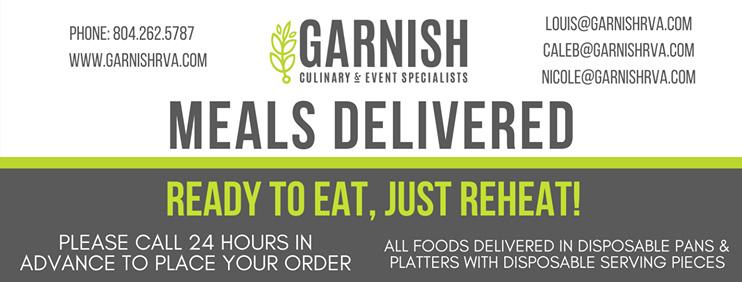 Garnish Meals Delivered!